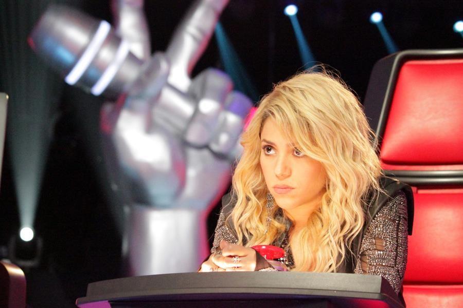 Shakira siempre hermosa, concentrada en lo suyo