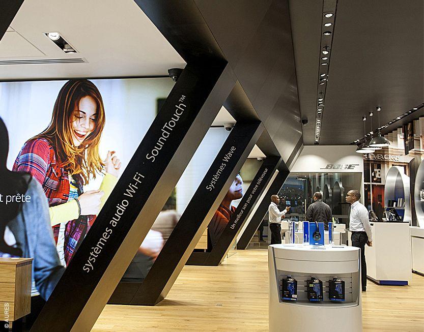 Bose Store In Paris Design Ideas Pinterest Bose And