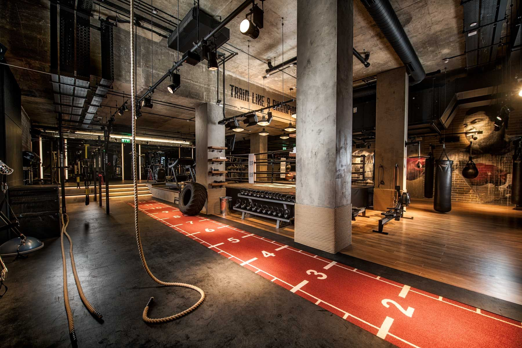 Factorylux Dha Designs Of Bxr London Gym With Images Luxury
