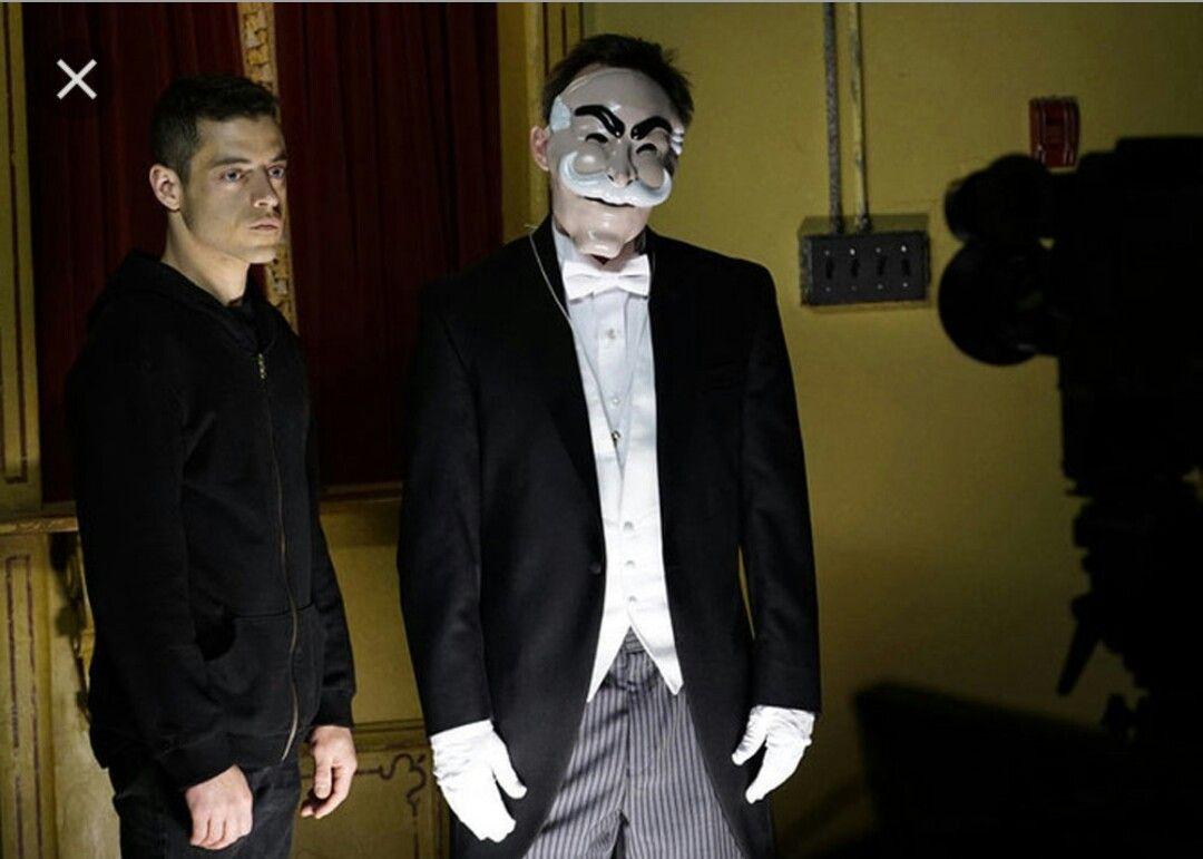 Fsociety masked man costume image Mr Robot | Halloween | Pinterest ...