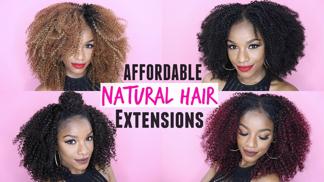 How to style curly natural hair extensions 5 easy affordable d27a678be2cd256d79f7330e783c7deeg pmusecretfo Images