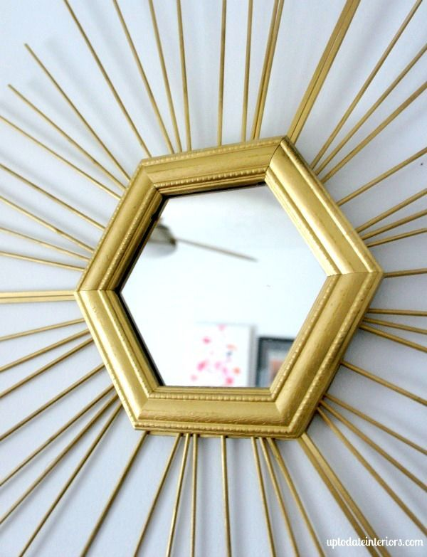 Wall Decor Ideas {for free | Wall decor and Gold diy