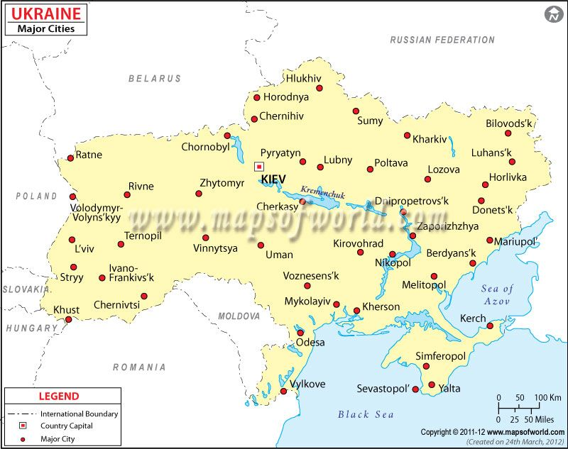 Map Of Ukraine Cities Google Search MAPS Pinterest Ukraine - Map of ukraine