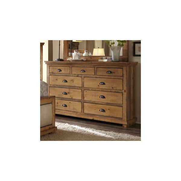 Progressive Furniture Willow 9 Drawer Dresser Shabby Chic Dresser 9 Drawer Dresser Dresser Drawers