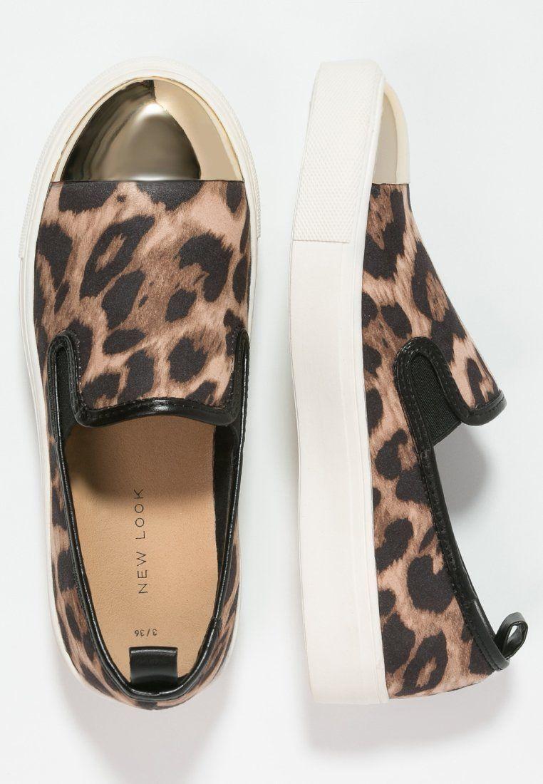 New Look Metalhead Polbuty Wsuwane Stone Zalando Pl Slip On Sneaker Vans Classic Slip On Sneaker Vans Classic Slip On