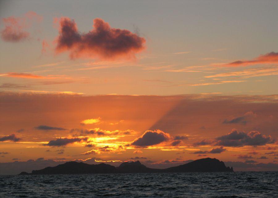 A fish in the sky, spotted by Gavin Tobin of the Blasket Islands in Ireland.