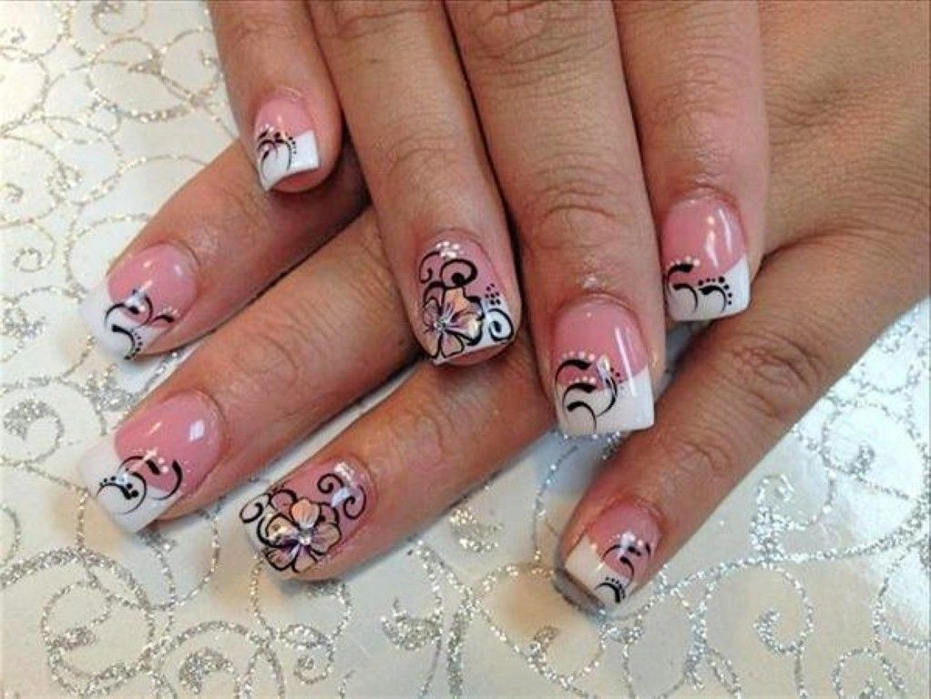 Black and white nail designs nail designs tumblr cute black and white nail designs nail designs tumblr cute glitter french tip prinsesfo Gallery