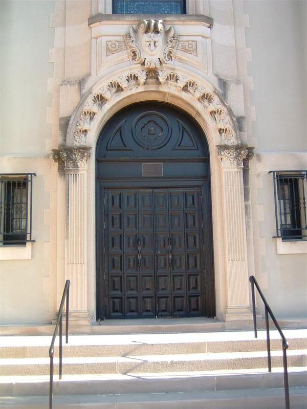 St. Frances Cabrini Roman Catholic Church Door - Omaha Nebraska . & St. Frances Cabrini Roman Catholic Church Door - Omaha Nebraska ...