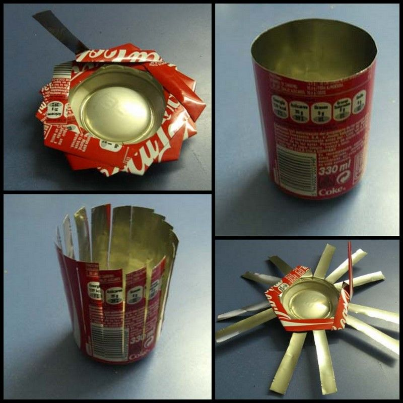 Cowie's Craft & Cooking Corner: Soda Can Ashtray