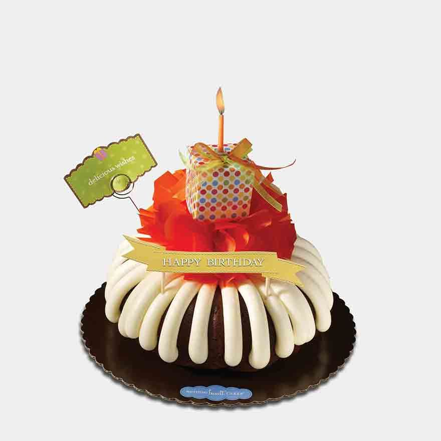 Make A Wish AndOlook Just What They Wanted A Hand Crafted - Bundt birthday cake