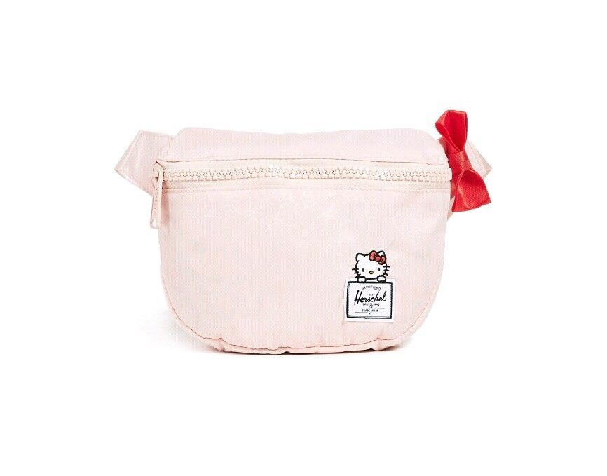 fbb2d9ee88fa Herschel Supply Co X Hello Kitty Fifteen Hip Pack Fanny Pack Chest Bag Pink   HelloKitty  ChestBag  fannypack  pink  herschel  womens  girls  kitty