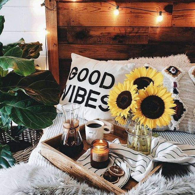 17+ Using Sunflower Room Decor Bedrooms 14 - apikhome.com #sunflowerbedroomideas