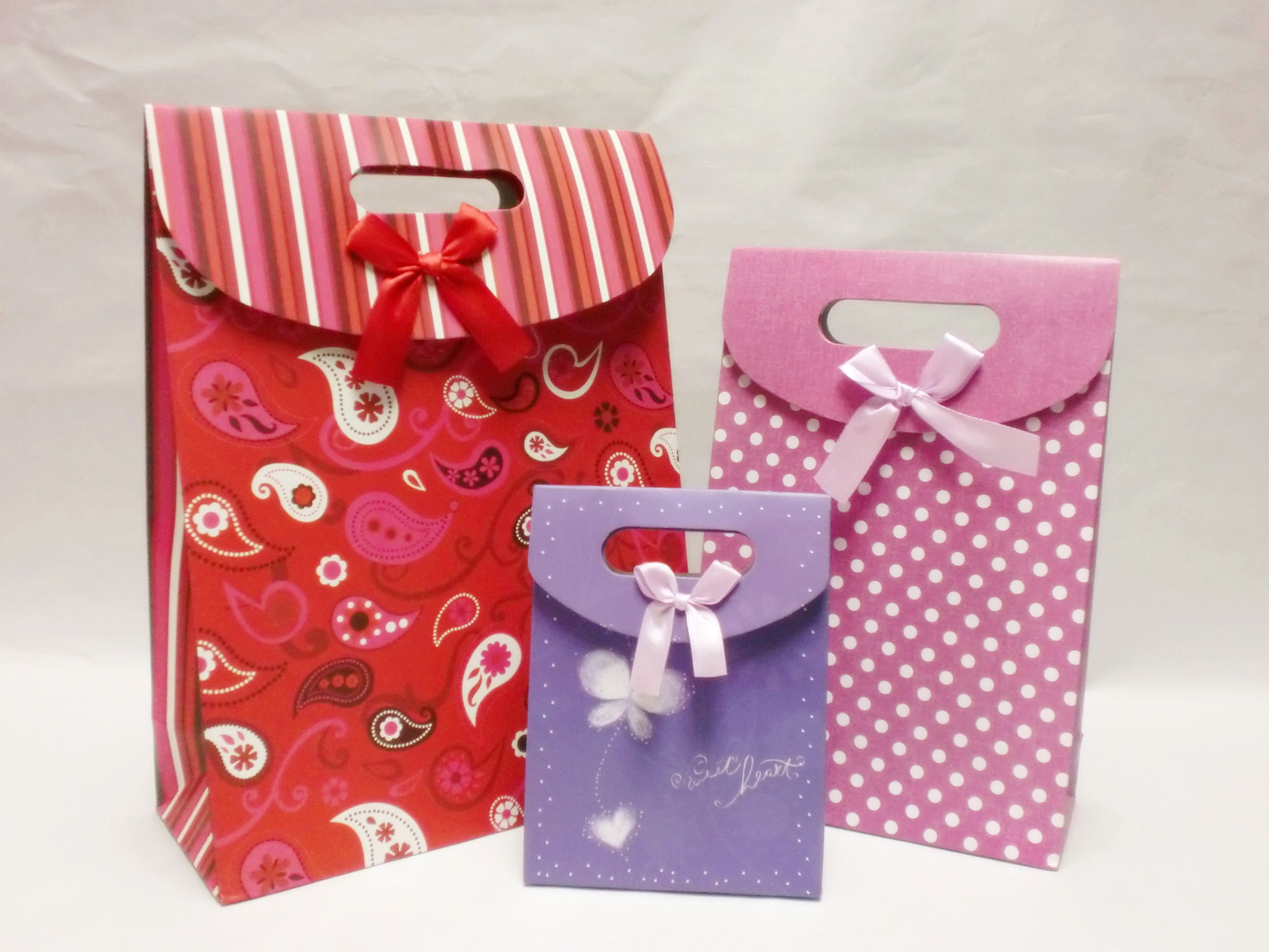 3 sizes retail gift bags~ All kinds of patterns! | Packaging bags ...