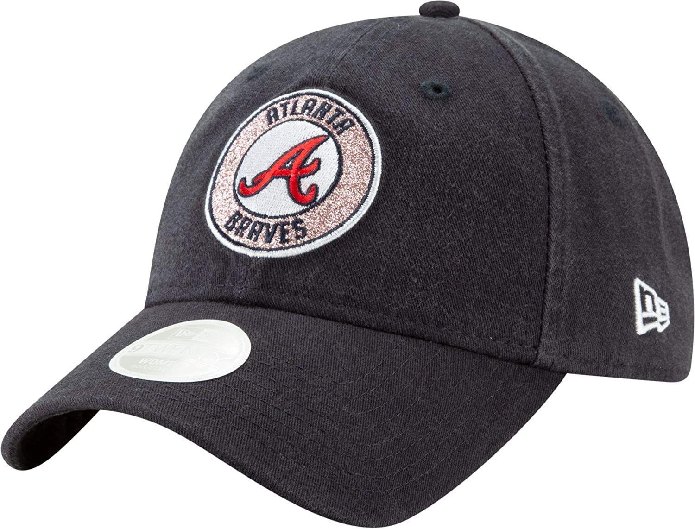 New Era Women S Atlanta Braves 9twenty Strapback Adjustable Hat In 2020 Adjustable Hat Atlanta Braves Braves