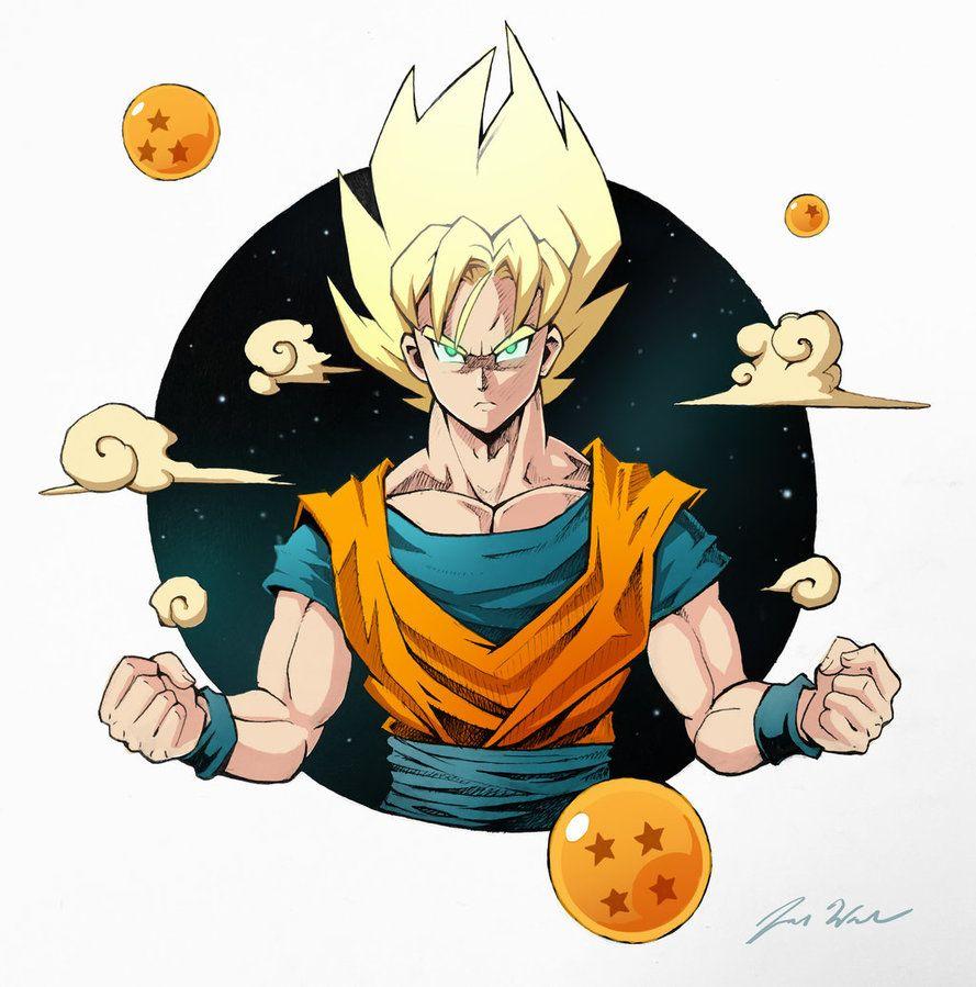 Goku by jordanwalkerartist | Dragon ball | Pinterest | Goku and ...