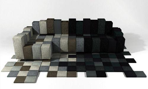 Good Canapé Design DO LO REZ Par Ron ARAD Good Looking