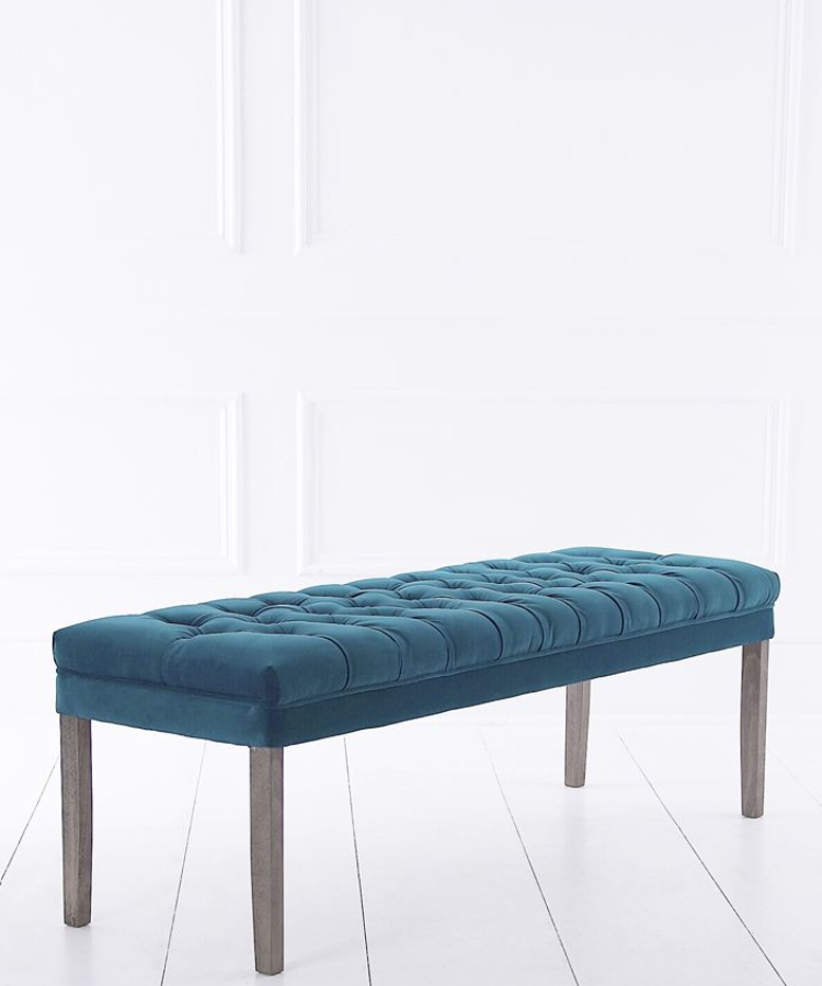 Our Exclusive Range Of Made To Order Upholstery Includes Our New Backless Dining  Bench