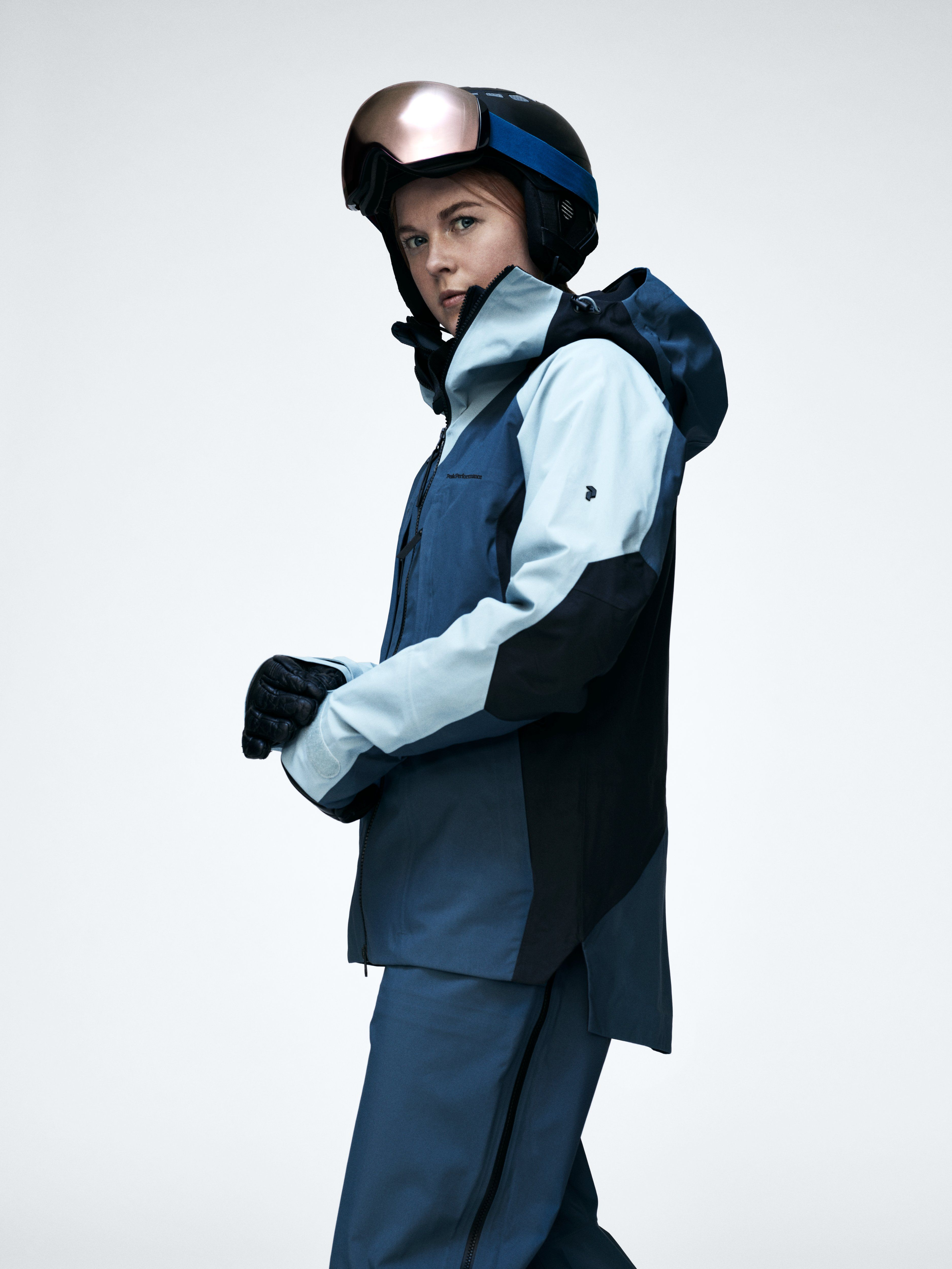 542806a601 Ski jacket   pants in gorgeous steel blue colours