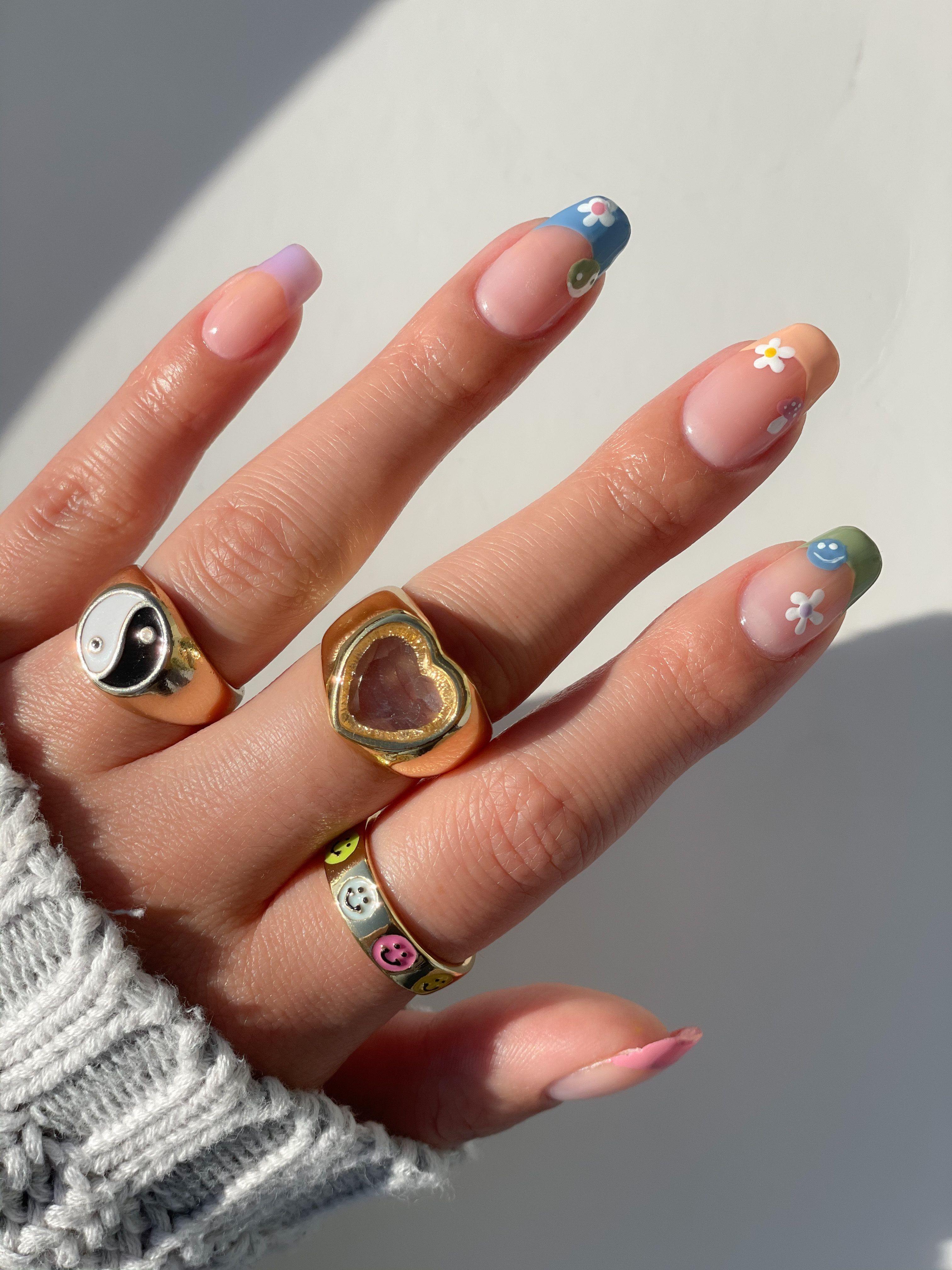 Pin by Kim Marie Vo on Nails! | Swag nails, Nails, Nail