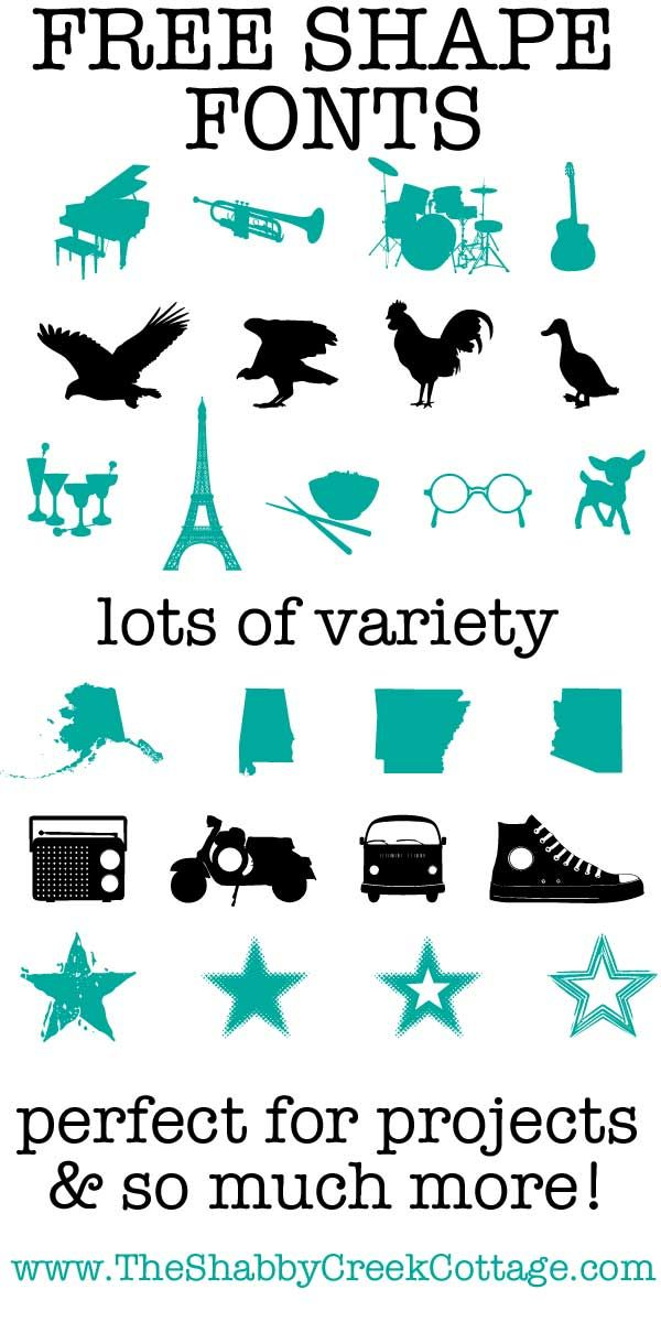 Download Seven Free Dingbat Fonts (perfect for projects!)   Dingbat ...