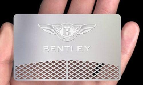 Metallic business cards collection to inspire you business cards marketing effective metallic business card colourmoves