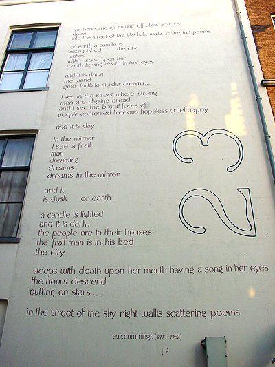 Leiden Poetry Cummings
