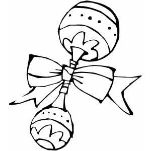 Baby Rattle Baby Rattle Baby Coloring Pages Precious Moments