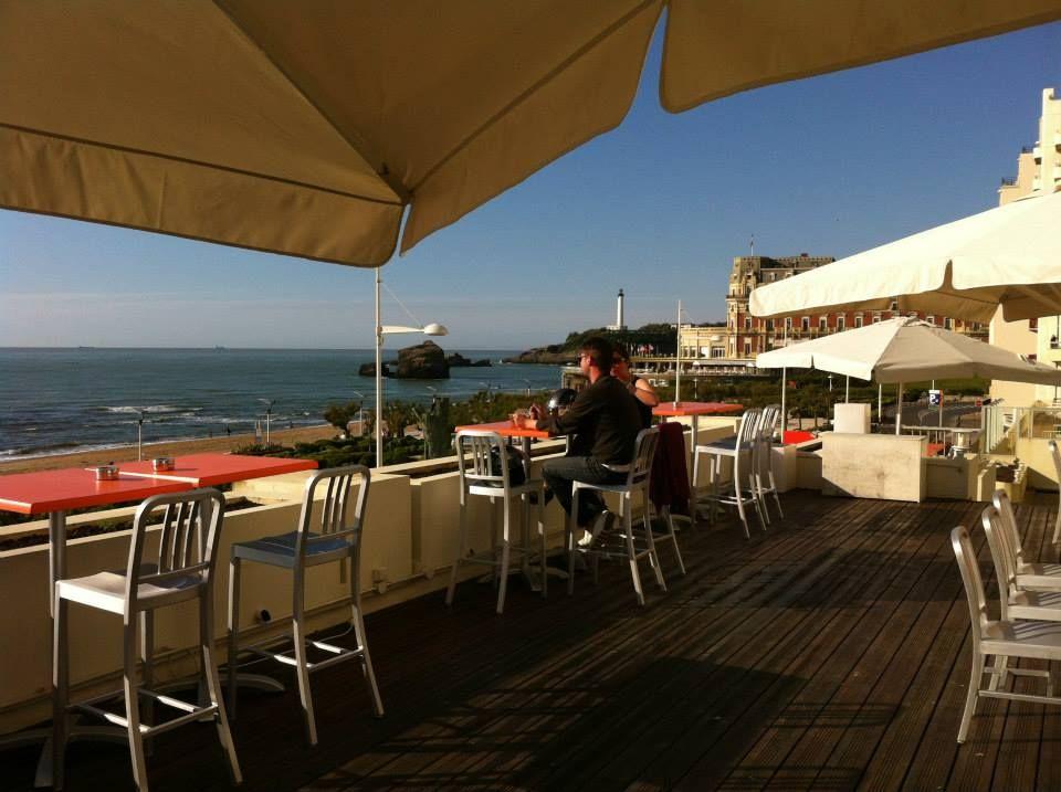 restaurant vue mer le room204 biarritz au pays basque. Black Bedroom Furniture Sets. Home Design Ideas
