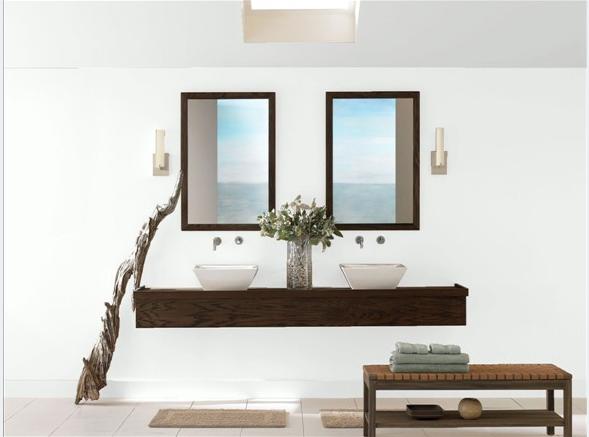 decorator white benjamin moore   Natural bathroom ...