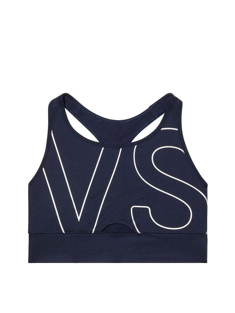 e0675593b6c Victoria s Secret Victoria Sport Keyhole Long Line Sport Bra - Classic Navy