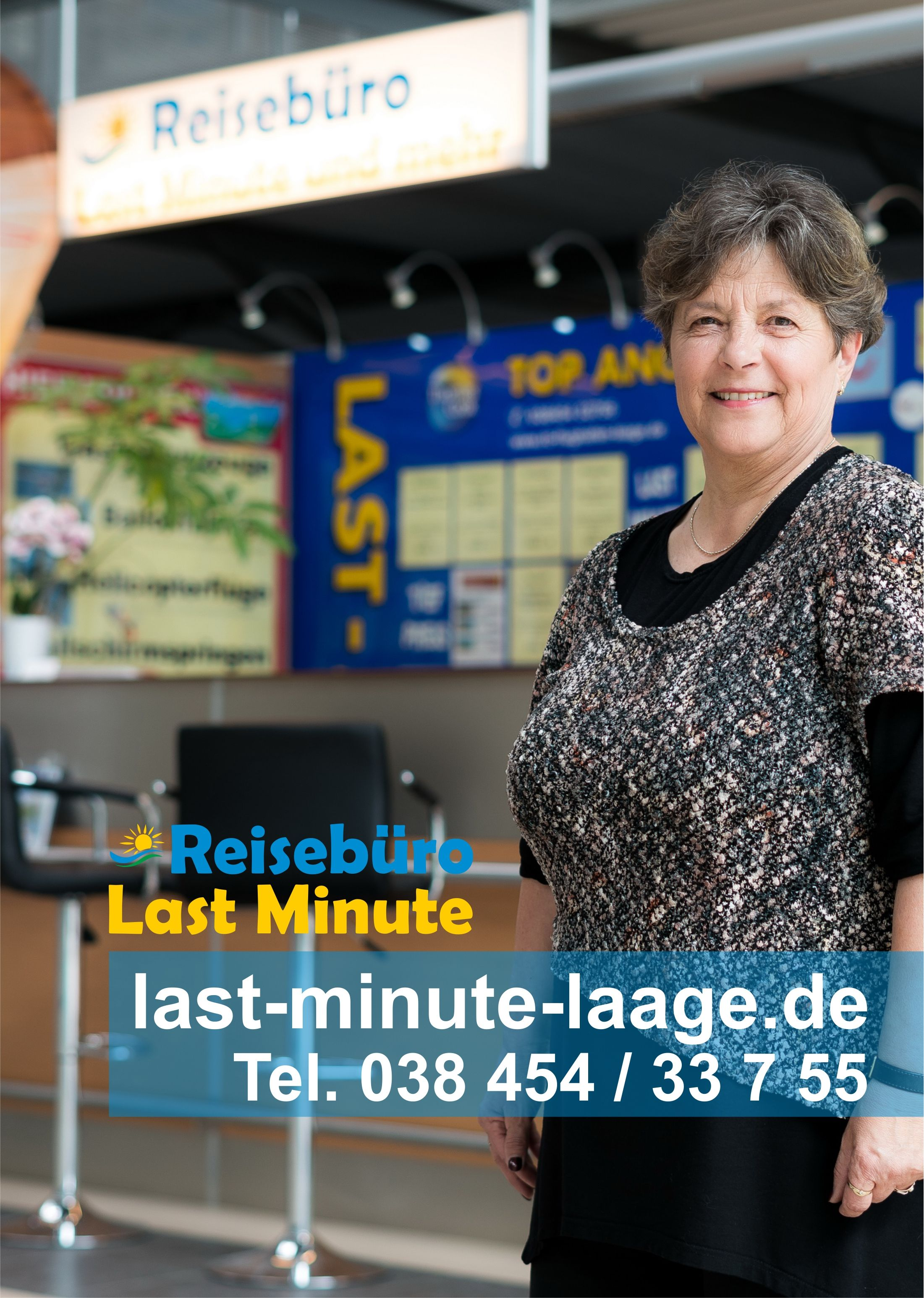 Urlaub clever buchen Reisebüro am Rostock Airport
