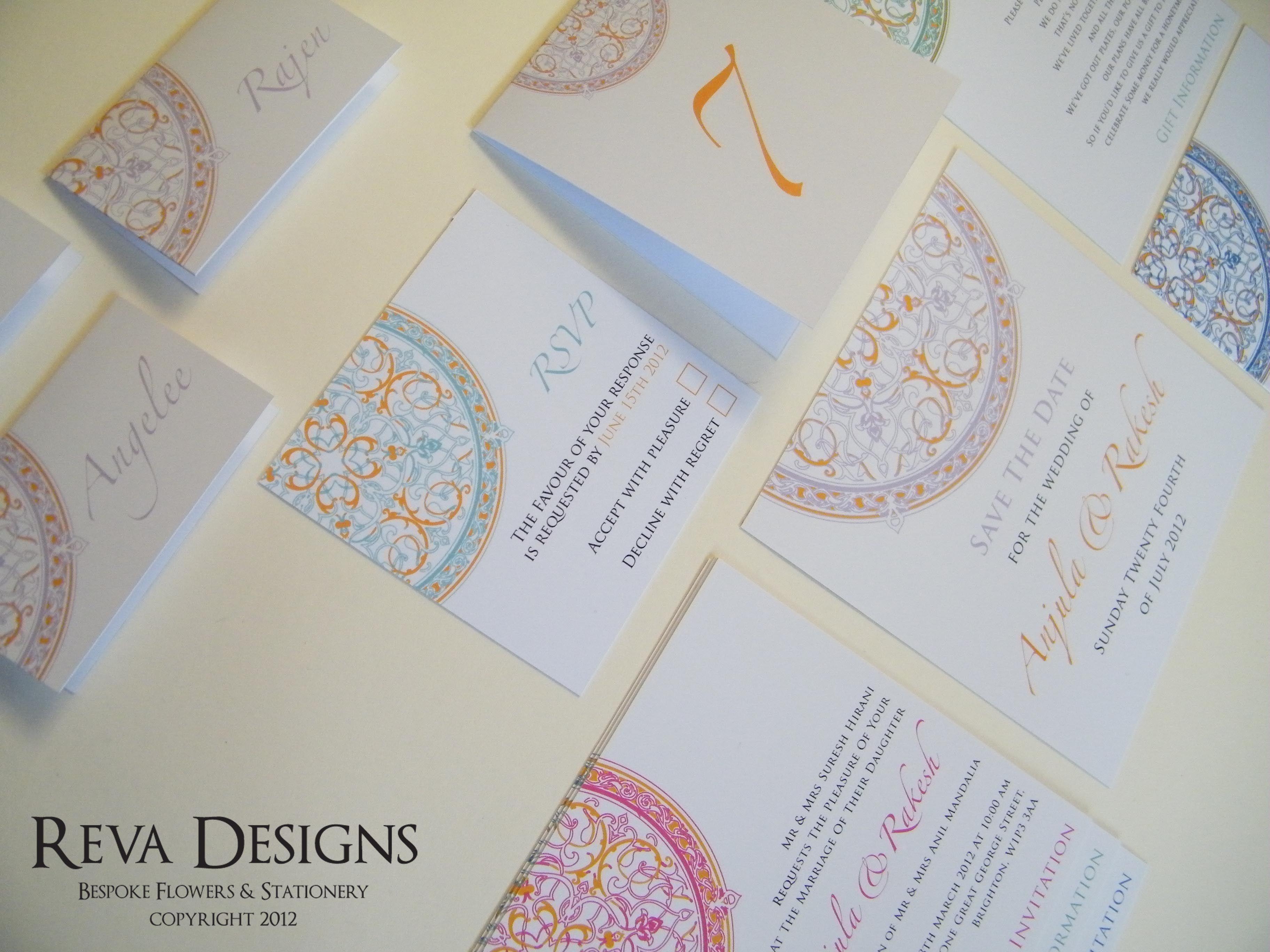 Modern Indian Wedding Invites | invites - paper - & more ...