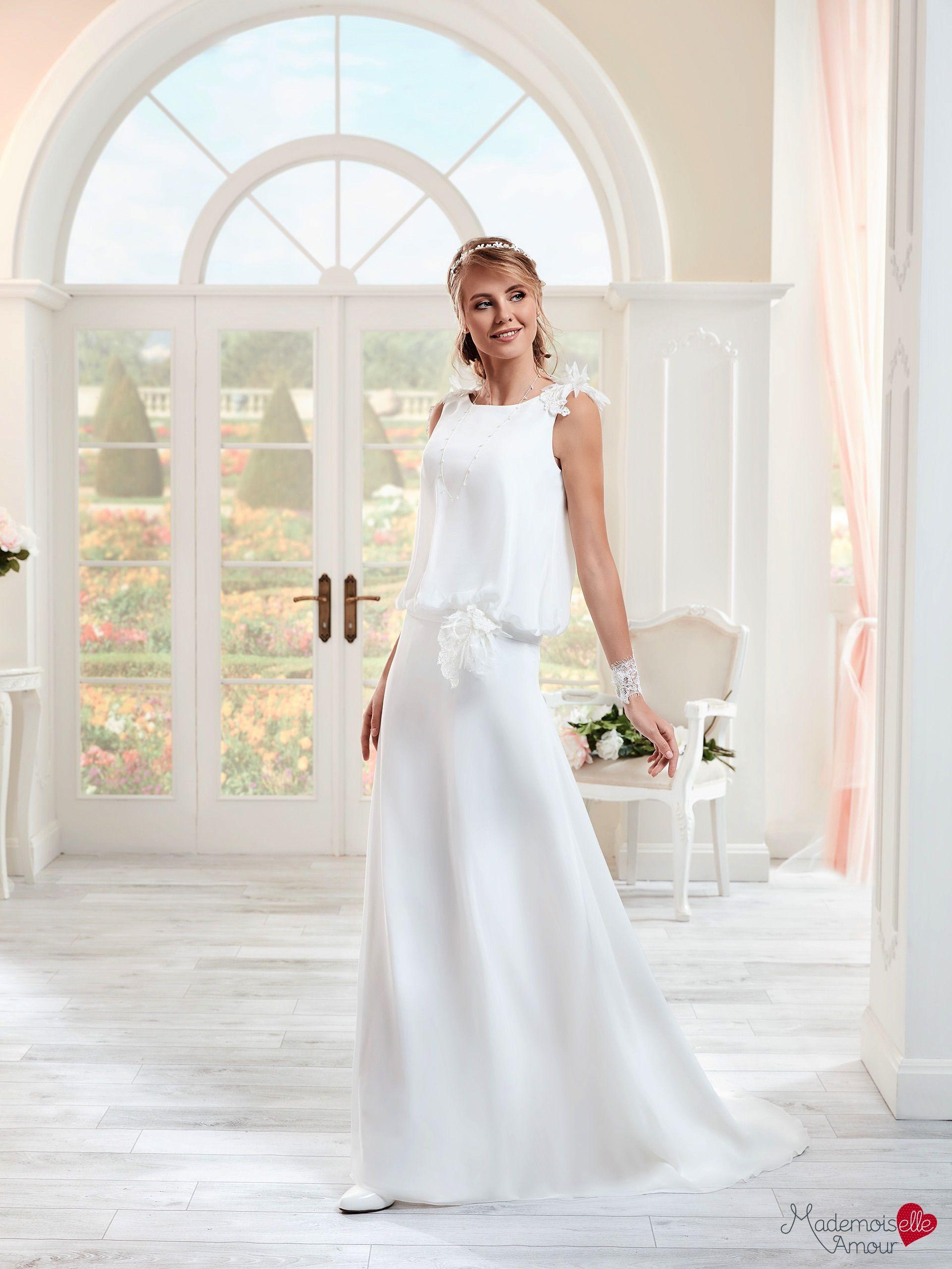 Robe de mariée mlle eve robe de mariée bohème robe de mariage