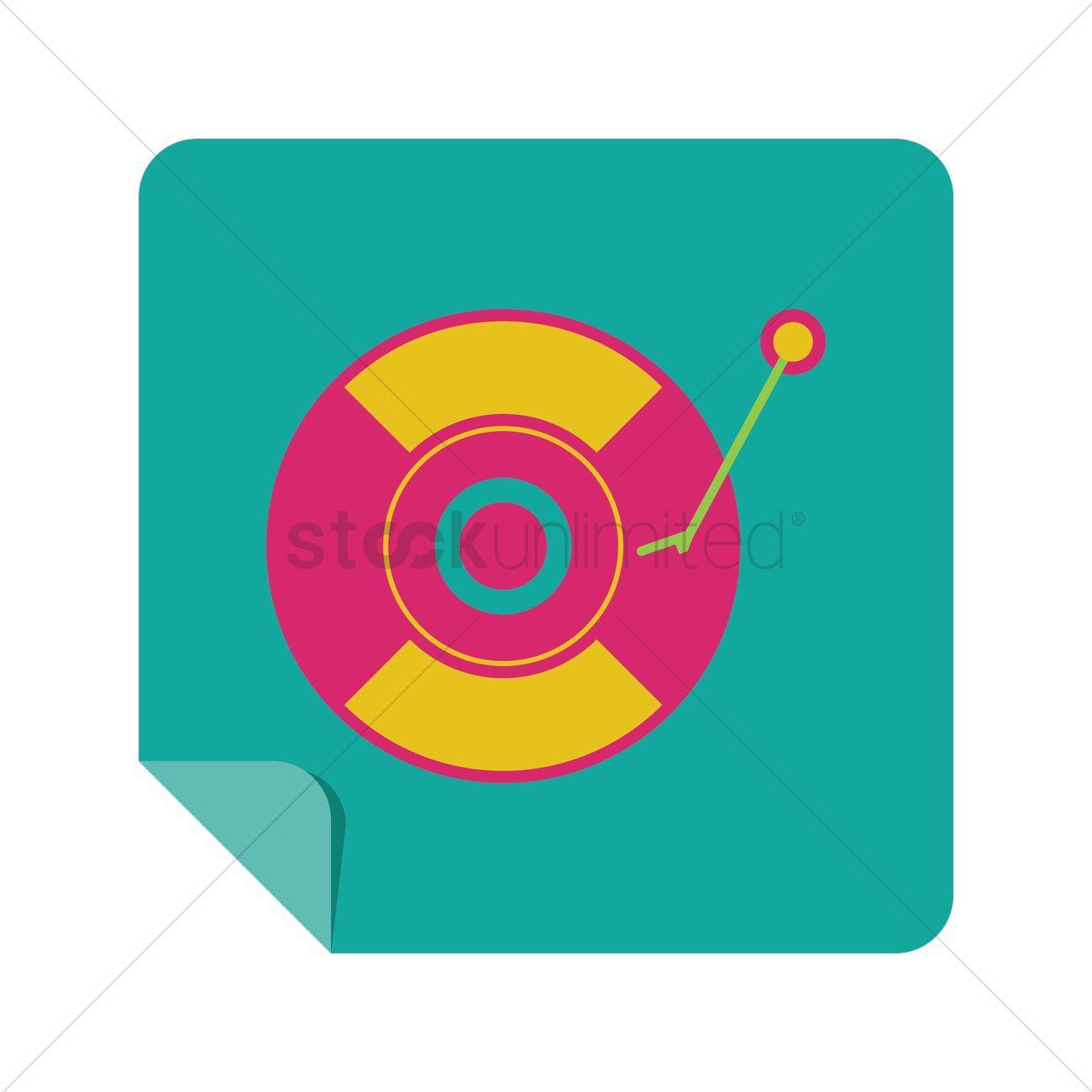 Turntable vector illustration , #Affiliate, #Turntable, #vector, #illustration #affiliate