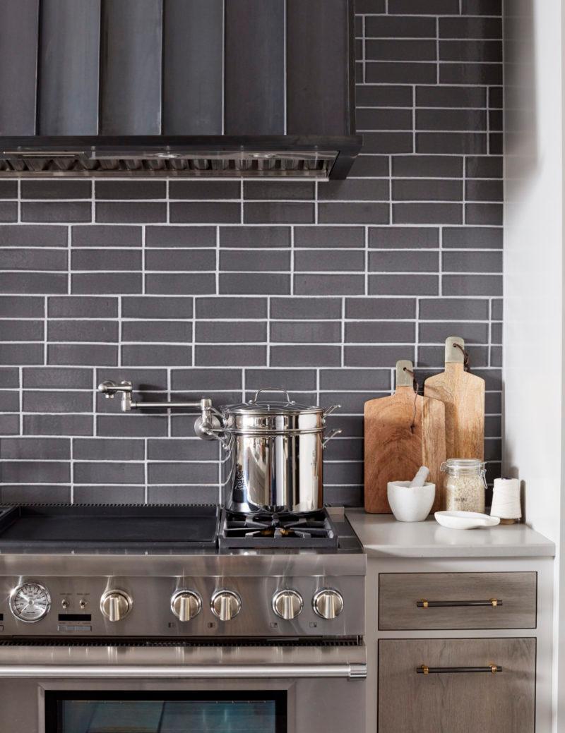 House Beautiful Kitchen Of The Year 2017 Fireclay Tile In 2020 House Beautiful Kitchens Brick Tiles Kitchen Brick Kitchen