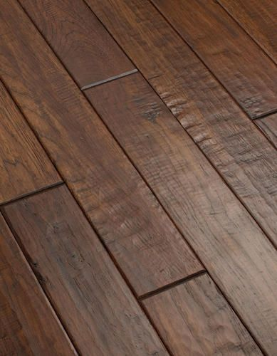 Prefinished Batavia Jakarta Solid Hickory Hardwood Flooring 3 4 X 4 At Menards Flooring Hickory Hardwood Floors Hardwood Floors