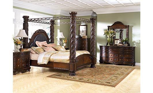 My Dream Bedroom Furniture.........ashley+furniture