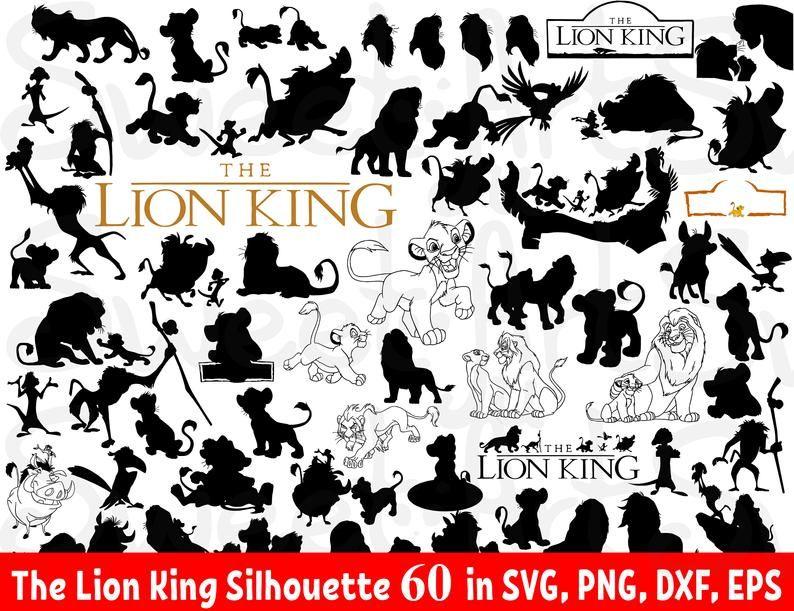 Lion King Silhouette Lion King Svg Lion King Clipart Lion King Vector Hakuna Matata Simb Lion King Clip Art Disney And More