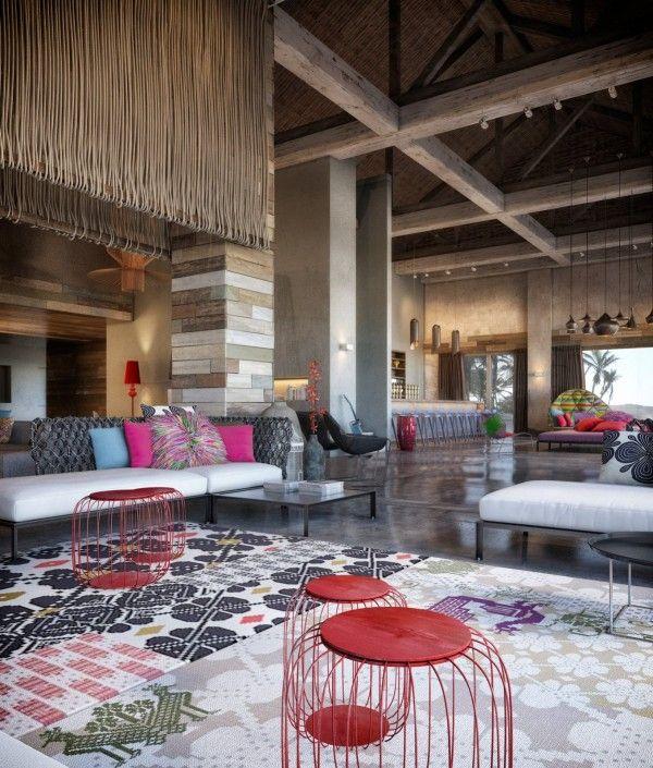 Inspiration De Design D'intérieur Exubérant Coloré De W Retreat Spa Vieques Island