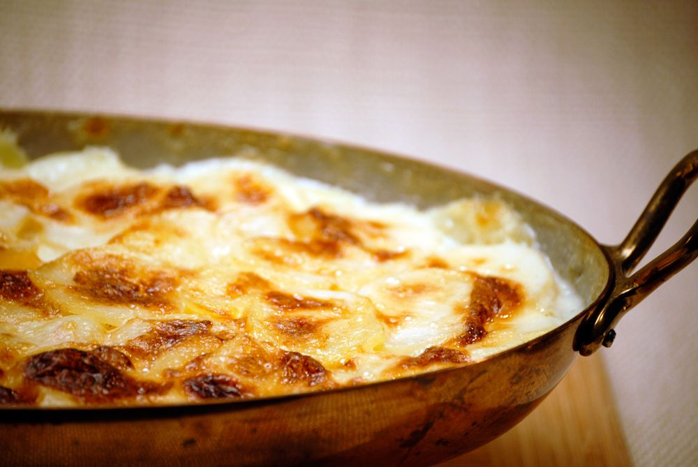 Potatoes Gratin Dauphinoise Jacques Pepin Recipe