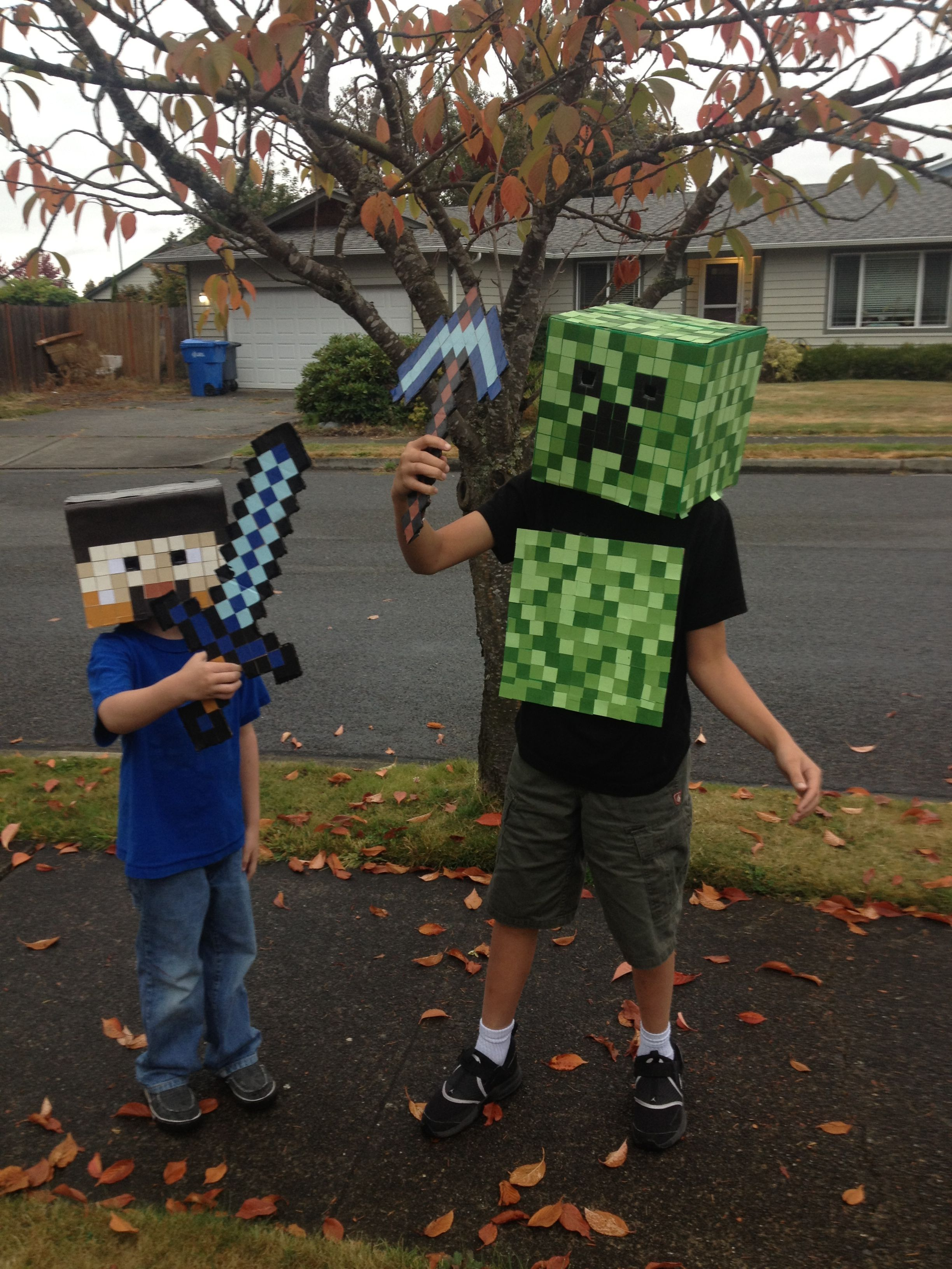 minecraft costumes   DIY I made this!   Pinterest   Costumes ...