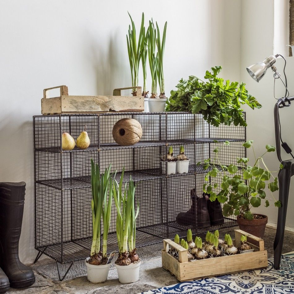 Large Wire Floor Unit | The great outdoors | Pinterest | Industrial ...