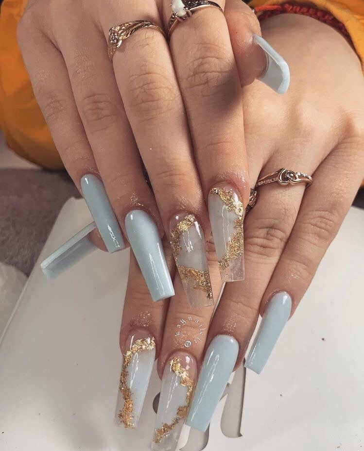 Image about blue in Nails by FASHION HUB♡ on We He
