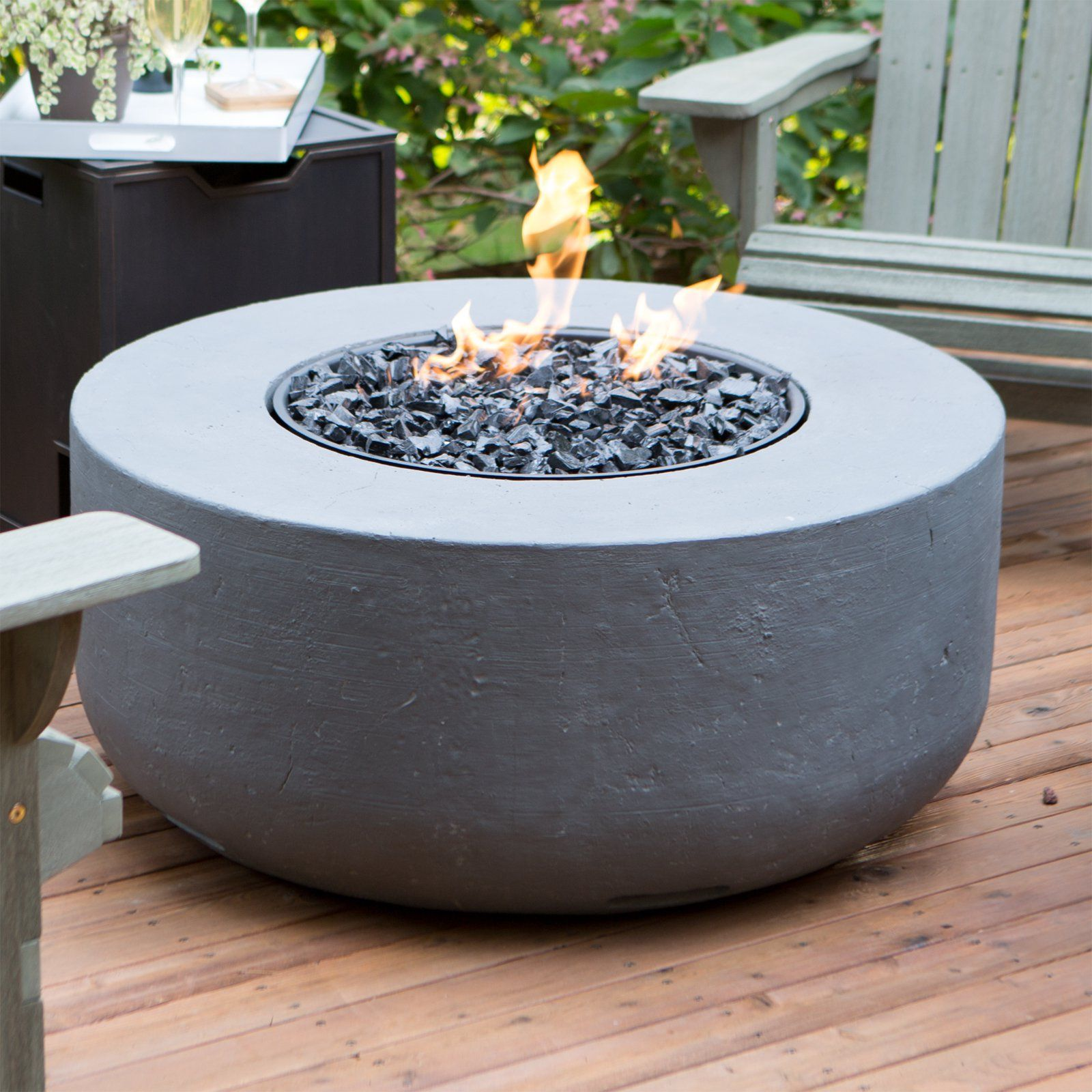 Gas Fire Table   A Beautiful Source Of Light And