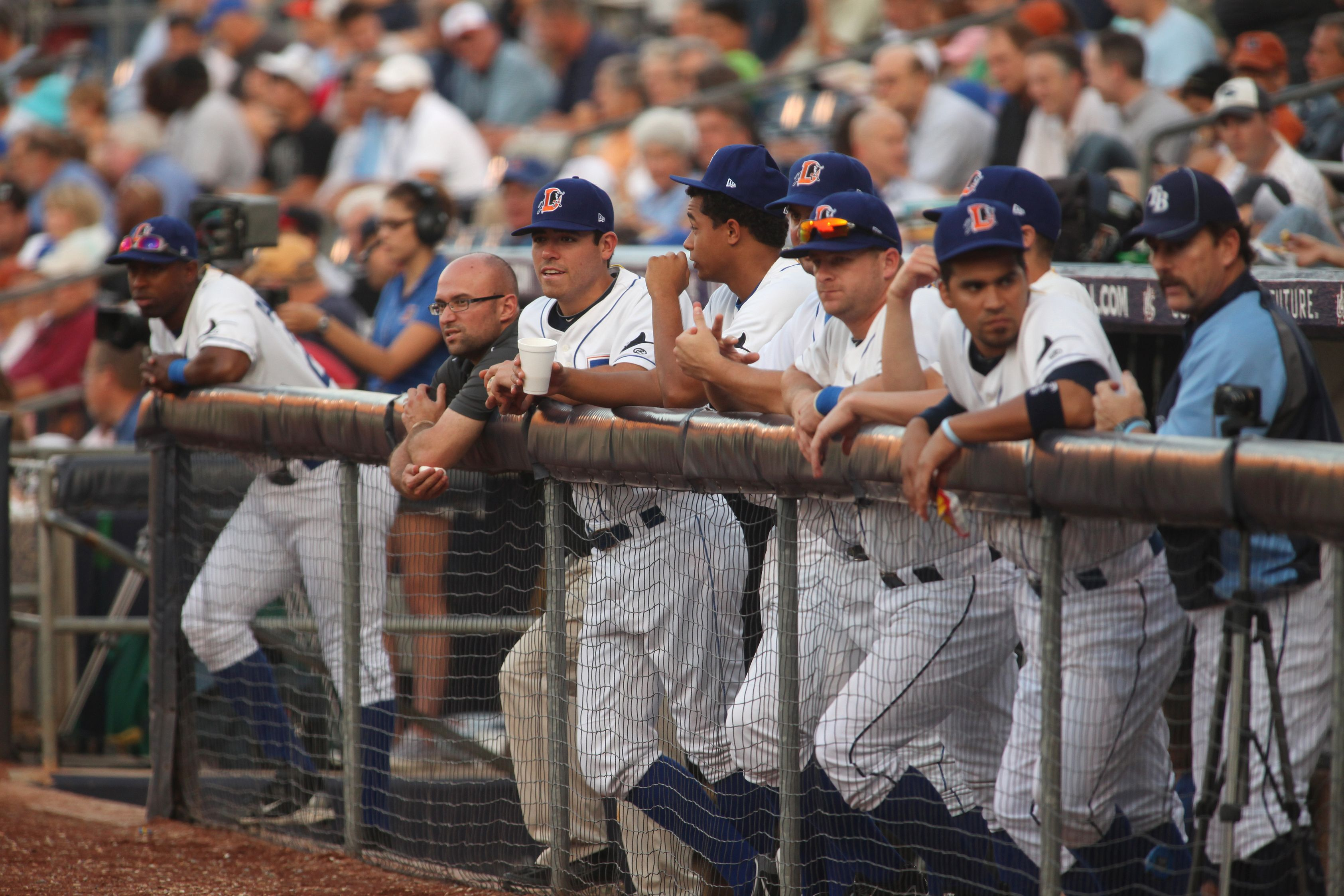 View From The Bulls Dugout With Images Baseball Dugout Durham Dugout