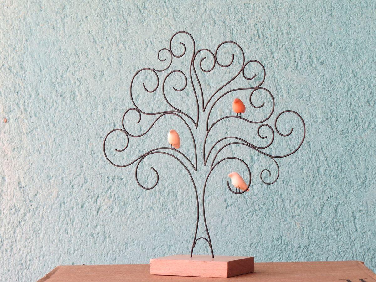 Árvore da vida | Wire art, Copper wire crafts and Copper wire