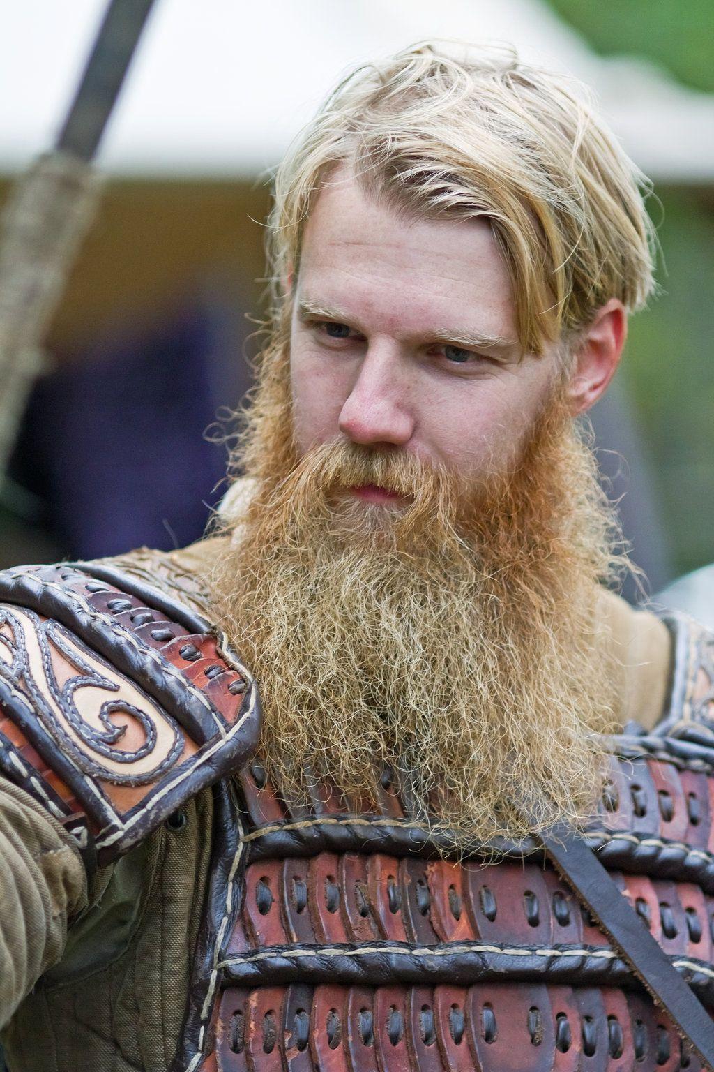 Blonde Viking Beard