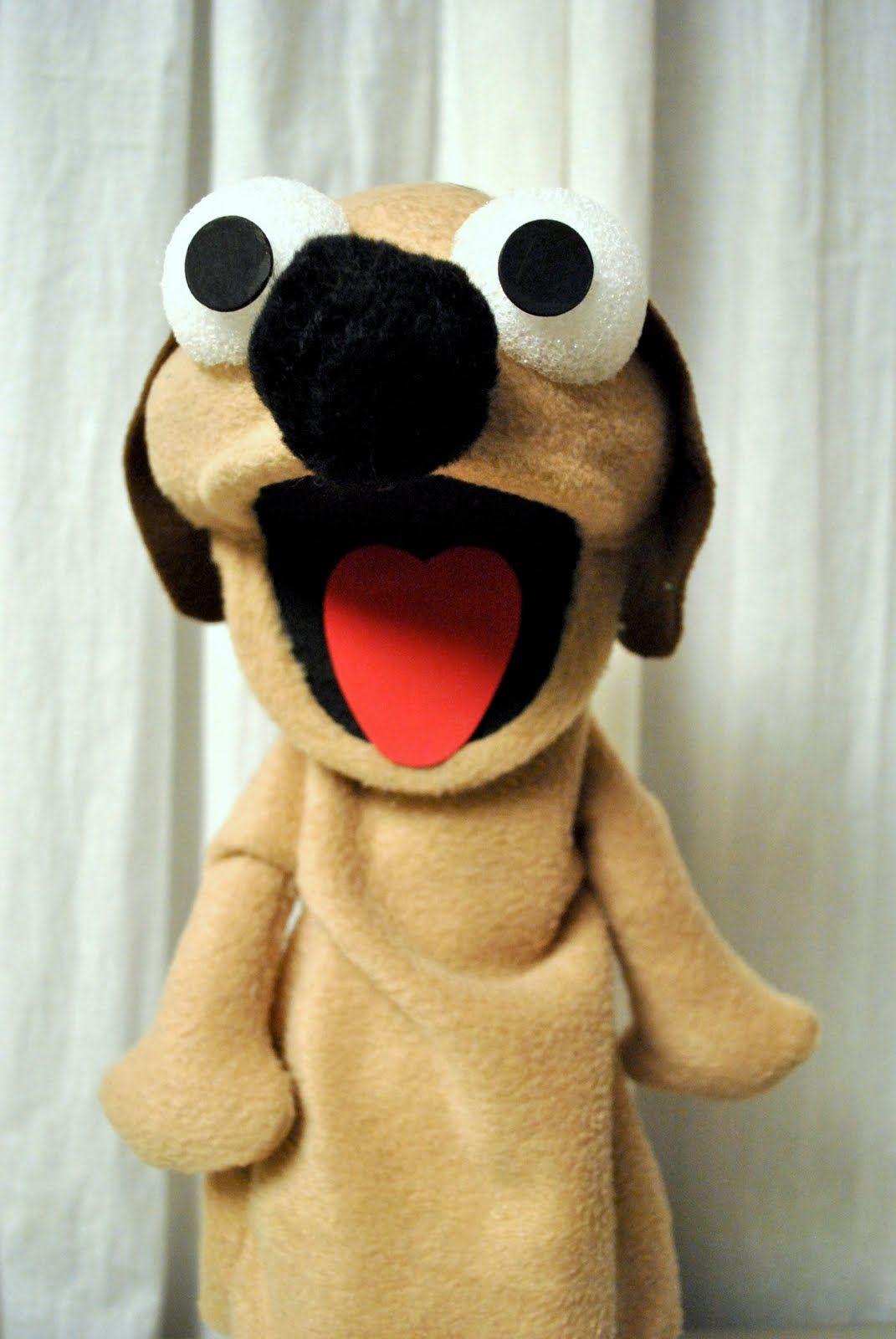 Dog Puppet Tutorial Puppet tutorial, Puppets for kids