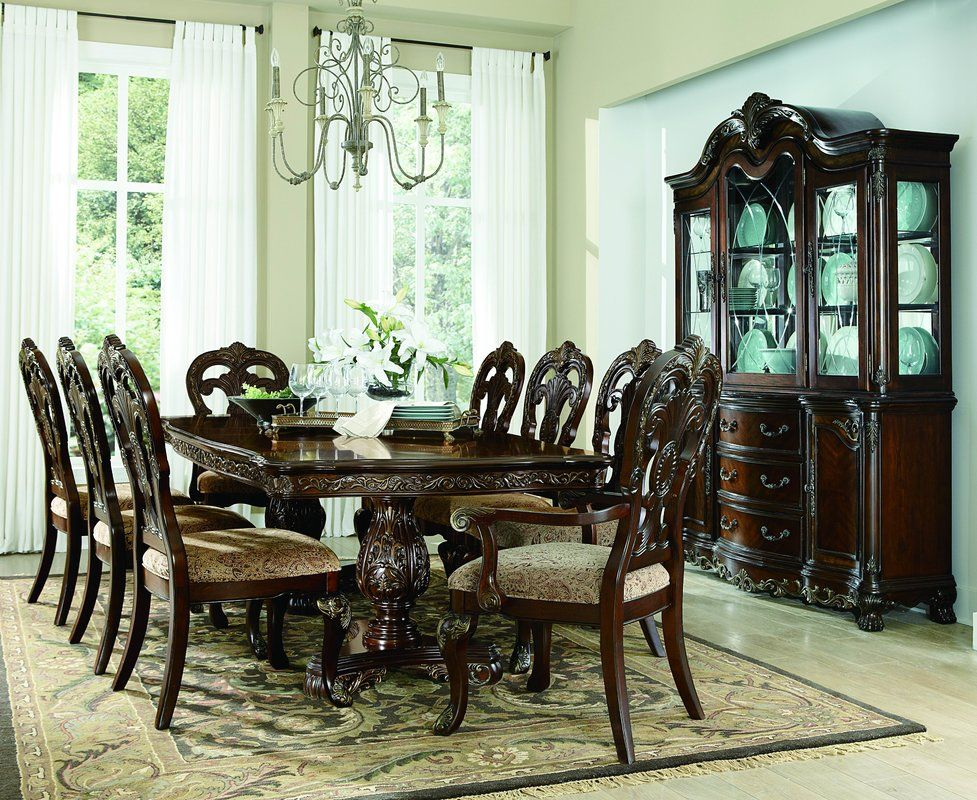 Astoria Grand Chalus 9 Piece Dining Set & Reviews Wayfair