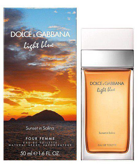 Light Blue Sunset In Salina Dolce Gabbana Pictures Light Blue Perfume Dolce And Gabbana Fragrance Blue Sunset